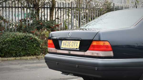 RESERVE LOWERED - 1995 Mercedes-Benz S600 V12 For Sale (picture 86 of 133)