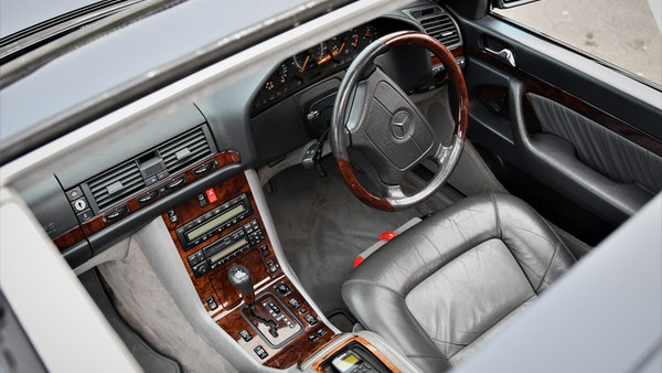 RESERVE LOWERED - 1995 Mercedes-Benz S600 V12 For Sale (picture 33 of 133)
