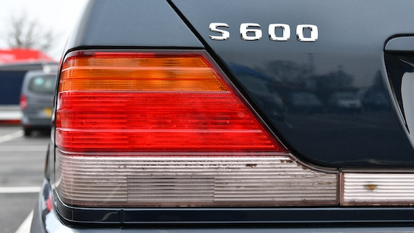 RESERVE LOWERED - 1995 Mercedes-Benz S600 V12 For Sale (picture 79 of 133)