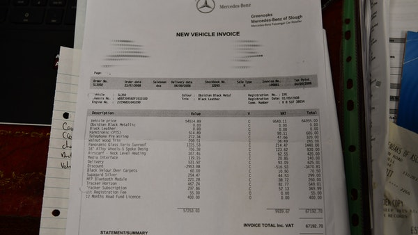2008 Mercedes-Benz SL 350 For Sale (picture 87 of 96)