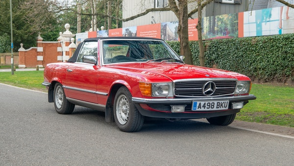 1984 Mercedes SL280 For Sale (picture 8 of 38)