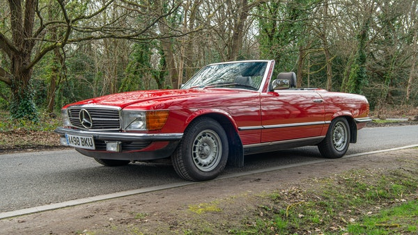 1984 Mercedes SL280 For Sale (picture 5 of 38)