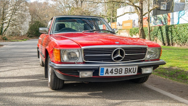 1984 Mercedes SL280 For Sale (picture 3 of 38)