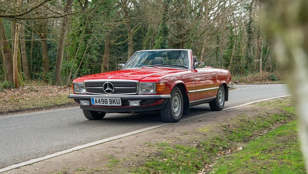 1984 Mercedes SL280 For Sale (picture 7 of 38)