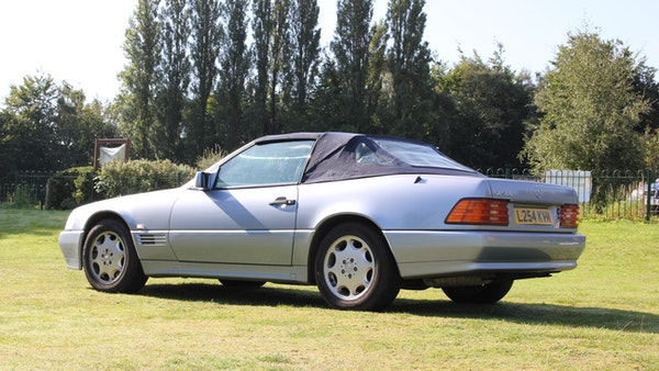 RESERVE LOWERED 1994 Mercedes-Benz SL500 For Sale (picture 18 of 180)