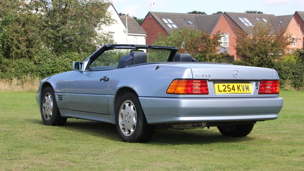 RESERVE LOWERED 1994 Mercedes-Benz SL500 For Sale (picture 29 of 180)
