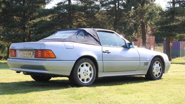 RESERVE LOWERED 1994 Mercedes-Benz SL500 For Sale (picture 16 of 180)