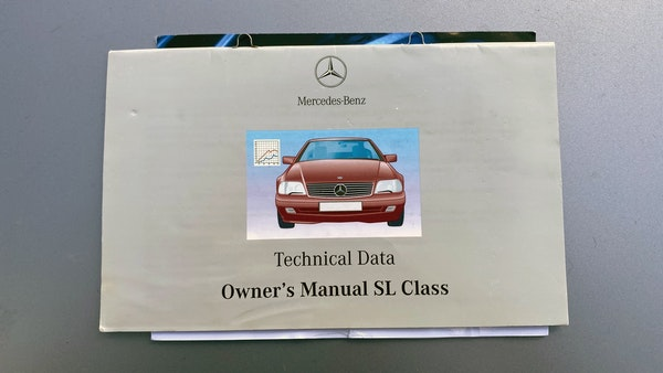 RESERVE LOWERED 1994 Mercedes-Benz SL500 For Sale (picture 140 of 180)