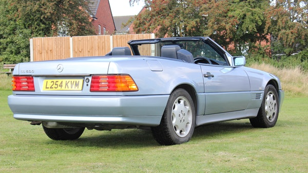 RESERVE LOWERED 1994 Mercedes-Benz SL500 For Sale (picture 28 of 180)