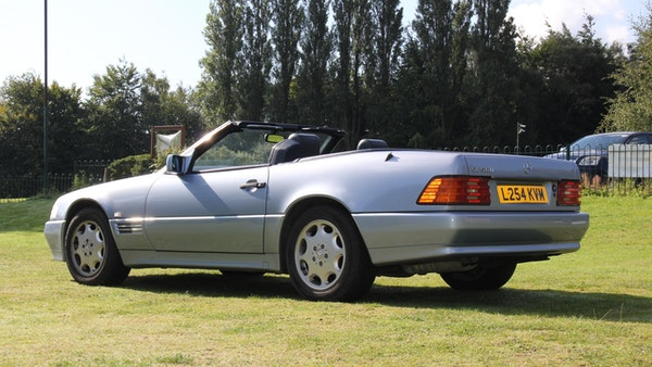 RESERVE LOWERED 1994 Mercedes-Benz SL500 For Sale (picture 24 of 180)