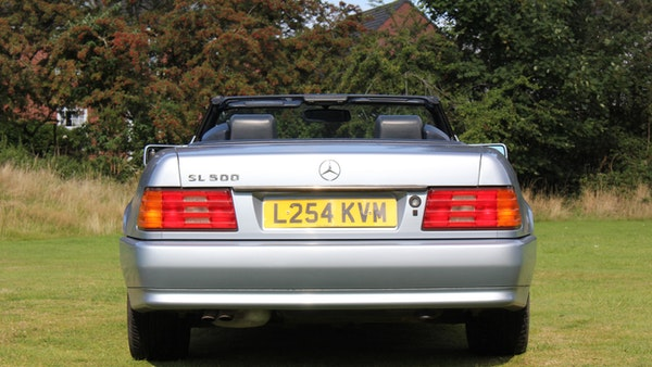 RESERVE LOWERED 1994 Mercedes-Benz SL500 For Sale (picture 26 of 180)