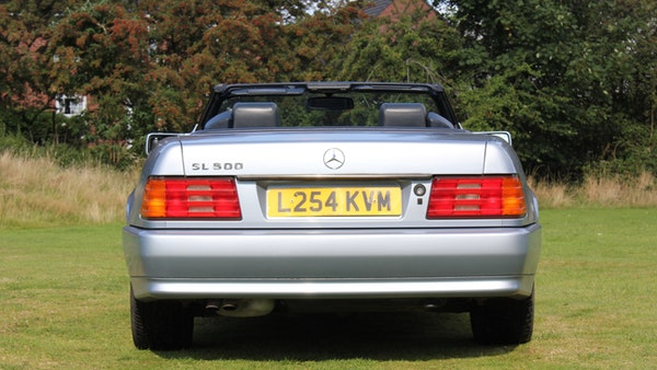 RESERVE LOWERED 1994 Mercedes-Benz SL500 For Sale (picture 27 of 180)