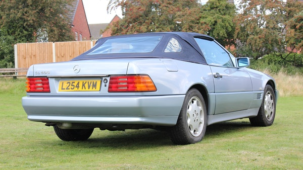 RESERVE LOWERED 1994 Mercedes-Benz SL500 For Sale (picture 25 of 180)