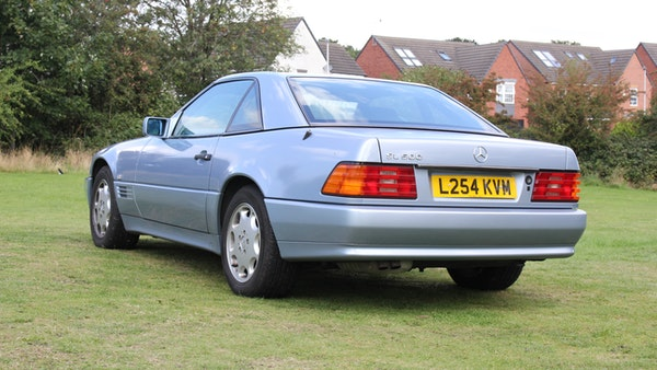 RESERVE LOWERED 1994 Mercedes-Benz SL500 For Sale (picture 33 of 180)