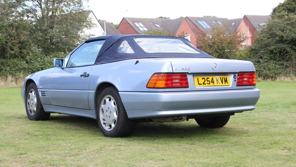RESERVE LOWERED 1994 Mercedes-Benz SL500 For Sale (picture 31 of 180)