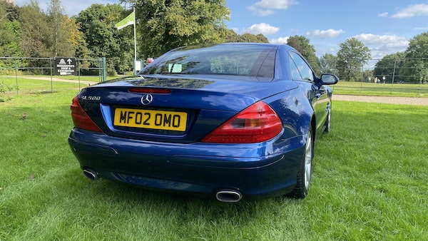 2002 Mercedes-Benz SL500 For Sale (picture 18 of 70)
