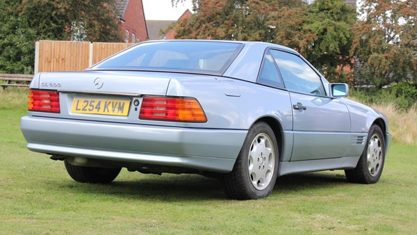NO RESERVE - 1994 Mercedes-Benz SL500 For Sale (picture 19 of 177)