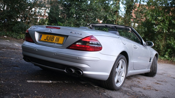 2002 Mercedes Benz SL55 AMG For Sale (picture 12 of 170)