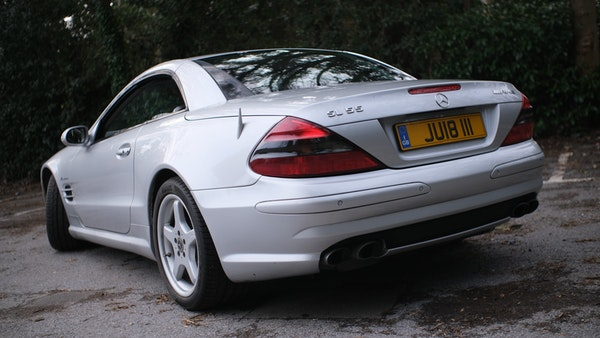 2002 Mercedes Benz SL55 AMG For Sale (picture 13 of 170)