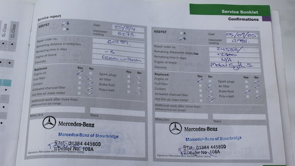 2003 Mercedes-Benz SL55 AMG For Sale (picture 124 of 131)