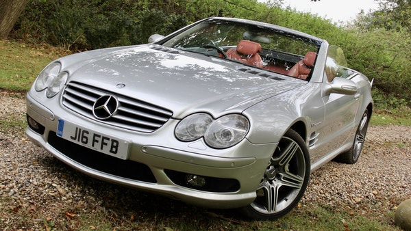 2003 Mercedes-Benz SL55 AMG For Sale (picture 21 of 131)