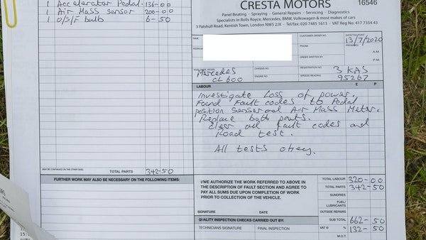 RESERVE LOWERED - 2000 Mercedes CL 600 V12 For Sale (picture 186 of 205)