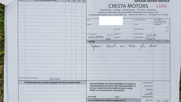 RESERVE LOWERED - 2000 Mercedes CL 600 V12 For Sale (picture 192 of 205)