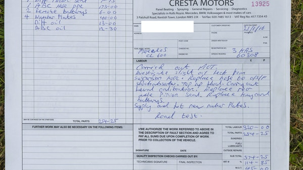 RESERVE LOWERED - 2000 Mercedes CL 600 V12 For Sale (picture 199 of 205)