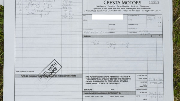 RESERVE LOWERED - 2000 Mercedes CL 600 V12 For Sale (picture 196 of 205)