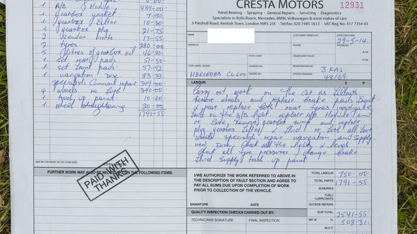 RESERVE LOWERED - 2000 Mercedes CL 600 V12 For Sale (picture 197 of 205)