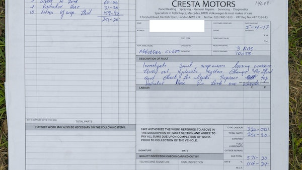 RESERVE LOWERED - 2000 Mercedes CL 600 V12 For Sale (picture 182 of 205)
