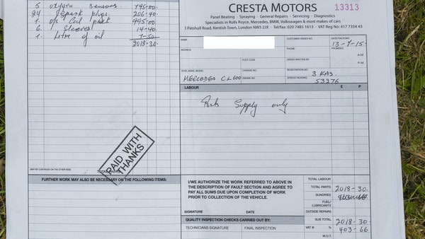 RESERVE LOWERED - 2000 Mercedes CL 600 V12 For Sale (picture 194 of 205)