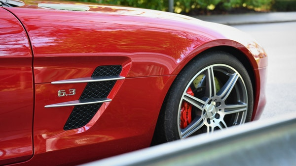RESERVE LOWERED - 2011 Mercedes-Benz SLS AMG Roadster For Sale (picture 60 of 118)