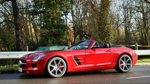 RESERVE LOWERED - 2011 Mercedes-Benz SLS AMG Roadster For Sale (picture 3 of 118)
