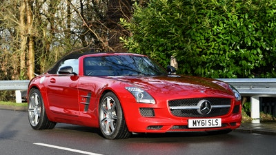 RESERVE LOWERED - 2011 Mercedes-Benz SLS AMG Roadster