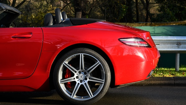 RESERVE LOWERED - 2011 Mercedes-Benz SLS AMG Roadster For Sale (picture 57 of 118)