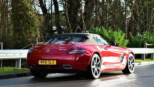 RESERVE LOWERED - 2011 Mercedes-Benz SLS AMG Roadster For Sale (picture 12 of 118)
