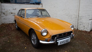 1970 MGB GT Coupe