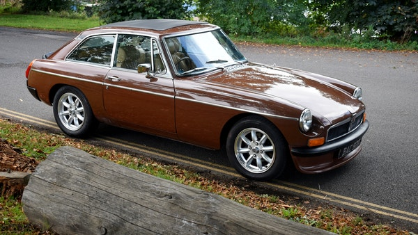 1978 MGB GT For Sale (picture 5 of 186)