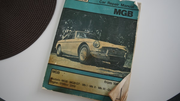 1978 MGB GT For Sale (picture 185 of 186)