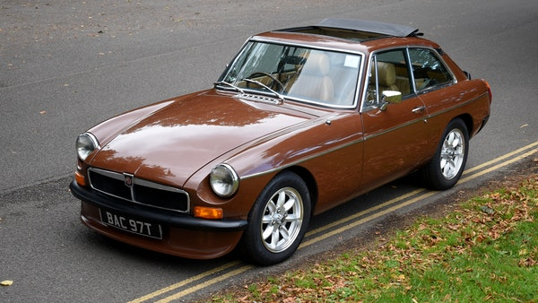 1978 MGB GT For Sale (picture 1 of 186)