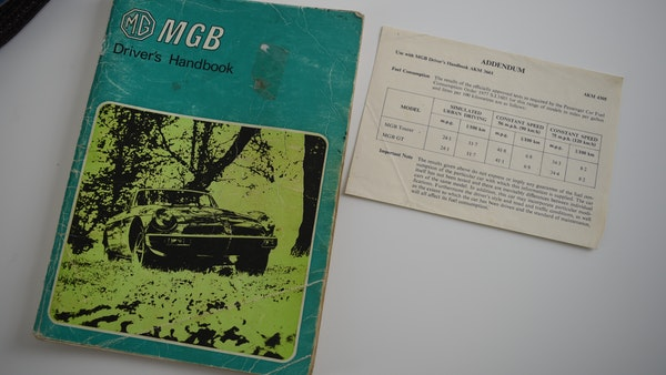 1978 MGB GT For Sale (picture 183 of 186)