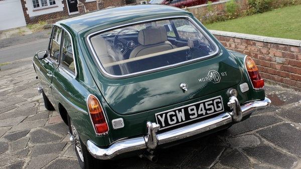 1969 MGB GT For Sale (picture 8 of 94)