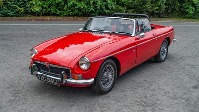 1971 MGB Roadster with V8 conversion