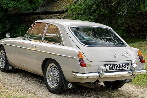 1969 MGC GT Automatic For Sale (picture 14 of 103)