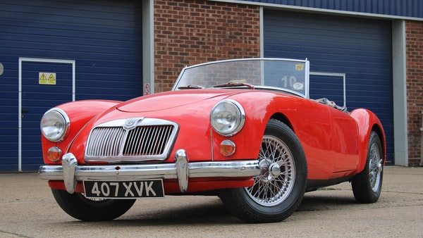 1958 MGA 1500 Roadster For Sale (picture 1 of 51)