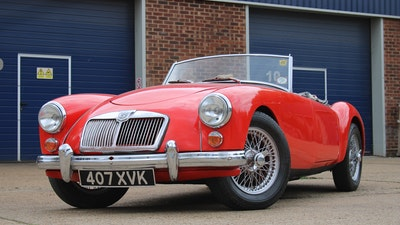 RESERVE REMOVED! - 1958 MGA 1500 Roadster