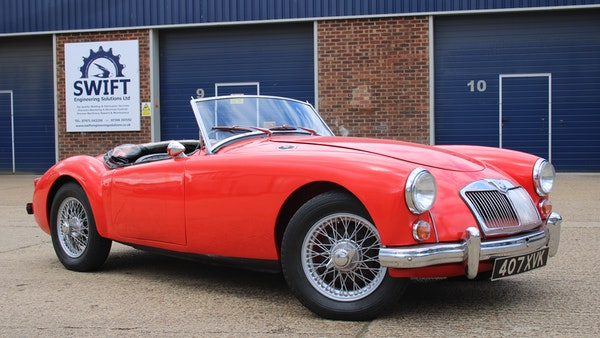 1958 MGA 1500 Roadster For Sale (picture 12 of 51)