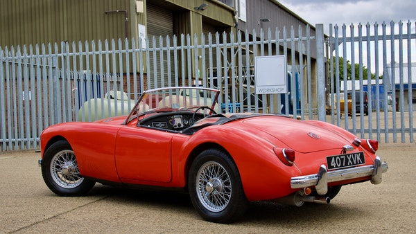 1958 MGA 1500 Roadster For Sale (picture 10 of 51)