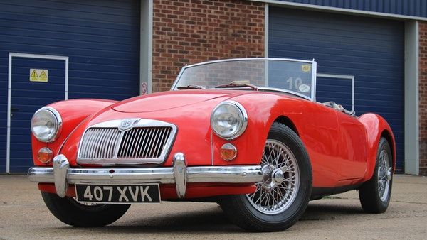 1958 MGA 1500 Roadster For Sale (picture 11 of 51)